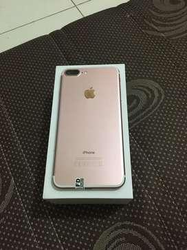 Iphone 7plus 128gb rosegold