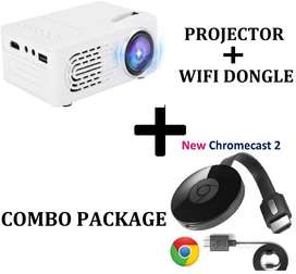 Projector with Wifi Dongle