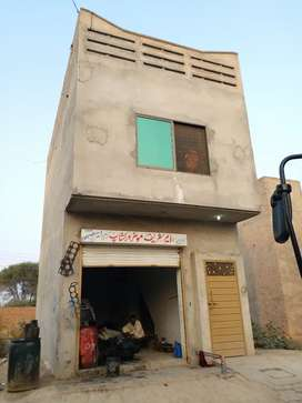 Commercial shop 1.5 marla for urgent sale 9 hazar monthly income