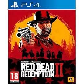 Kaset BD PS4 RDR 2