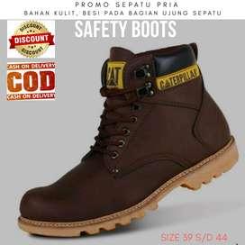 Sepatu safety boots catpillar