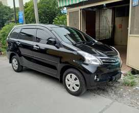 Dijual Daihatsu Xenia 2012 Type X 1.3 warna hitam Manual
