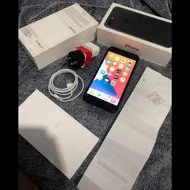 Iphone 7 Plus Silver White 128GB Ibox