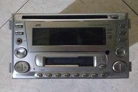 jual cepat tape audio honda jazz tahun 2006 merek jvc