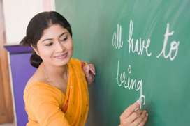 Teacher for kids 1 st class , hindi and english