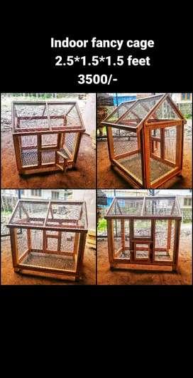Fancy indoor bird cage