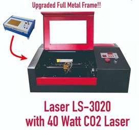 Mesin Cutting Laser Masker Scuba Acrylic Stempel dll