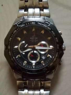 Edifice Casio chronograph wr100m