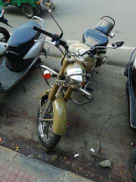 royal enfield Desert Storm,well maintained.used sparsely
