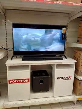 Bisa kredit tv LED Polytron Soundbar ckp byr DP 10%