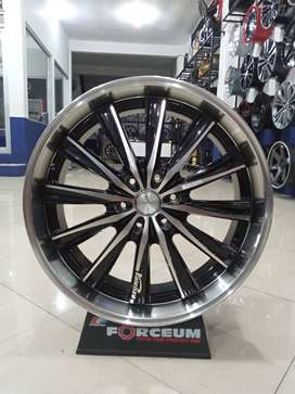 Velg mobil murah HSR ELephant Ring 22 Pcd 6x139,7 untuk Pajero Triton