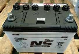 Aki mobil NS70 (merk NS)