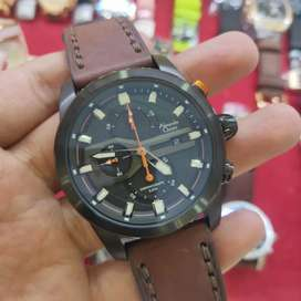 JAM TANGAN AC 6562 BLACK BROWN