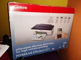 Cannon wireless printer price negotiable