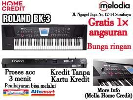 Promo Kredit Roland BK-3 Syarat KTP dan SIM di melodia Musik Surabaya