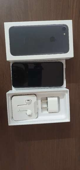 IPhone 7 32gb black color under warranty in a mint condition for sale.