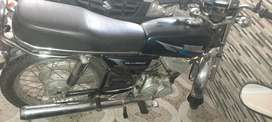 Rx100 to 135 5speed