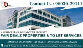 Ground floor available for rent in Ranjit Avenue B block
