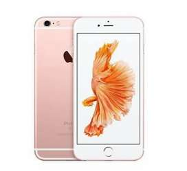 Iphone 6S less used mobile on sale rose gold colour