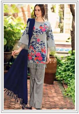 3 Pc Best Quality Fabric Lawn