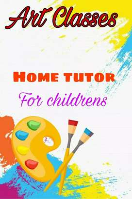 I'm art and craft teacher.  Home tutor