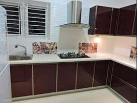 On Road Society flat in Raj Nagar Extension.