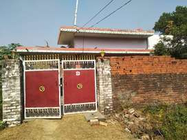 Plot area is very long and long space area 3 room 1 kitchen kitchen