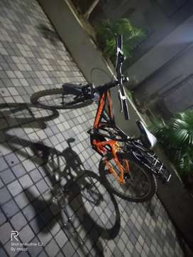 A cycle is very good condition and3 month old