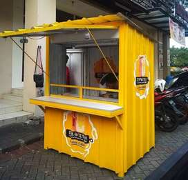 Booth container booth jus booth nasi goreng booth coffee shop