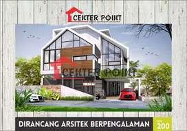Rumah di Simpang Kiri kami juga melayani jasa arsitek dan kontraktor