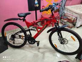 Top Gear 18 speed shemano gear front disc brake dual suspension