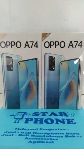 Oppo A74 6/128gb resmi baru