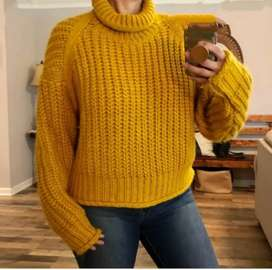 Turtle Neck Sweater RS-825