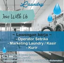 Dicari Karyawan Laundry
