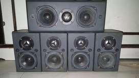 speakers of amplifier