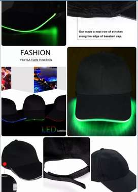 LED light in cap
