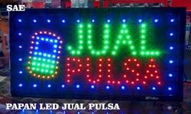 PAPAN LED JUAL PULSA PLN