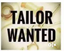 Tailor wanted - Female