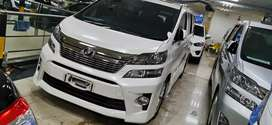 Toyota Vellfire Zg  2013 Pilot Seat Istimewa 418 jt Kredit