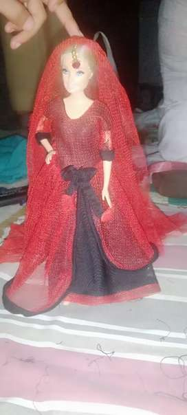 A beautiful doll for girls with 3 piece 1suit