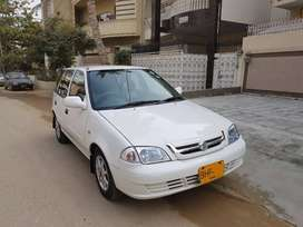 Suzuki Cultus Limited Edition 2016 Registered 2017 Company Fitted CNG