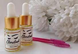 CLARILASH serum alis dan bulu mata alami bahan herbal