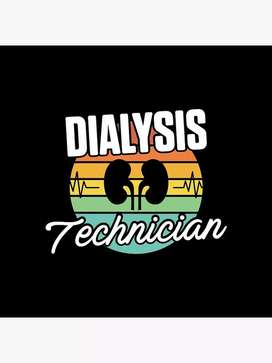 I want DIALYSIS TECHNICIAN job ( 3 years working experience)