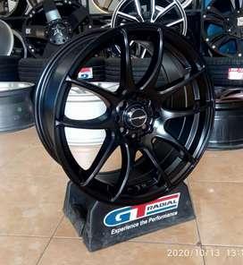 Velg mobil racing Ring 17-7.5 h8-100-114.3 et42 bisa untuk Avanza Vios