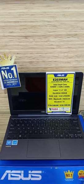 KREDIT ASUS E203MAH RAM 2GB (WHITE)    CICILAN FRE 1X    TANPA JAMINAN