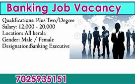 Banking job vacancy