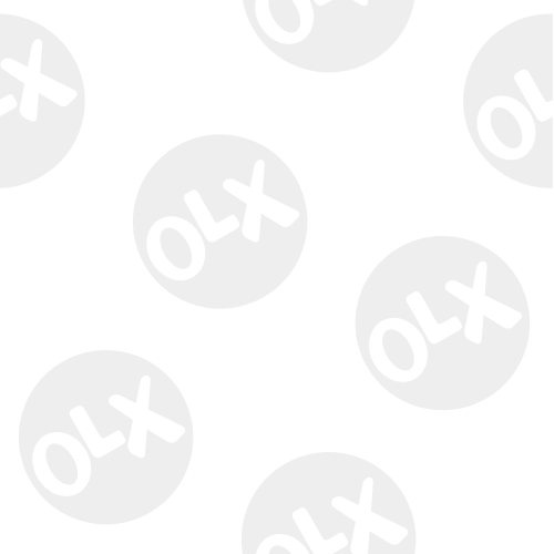 Brand new white king size bed with side table & LED light work