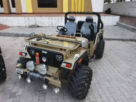 Army colour modified willy jeeps