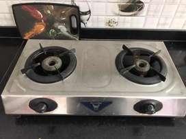 2 burner butterfly stove