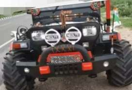 Willy jeep modified mahindra
